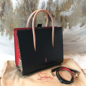 Christian Louboutin Medium Black Spike Paloma Bag